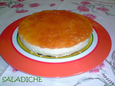 CHEESECAKE DE DAMASCO DIET