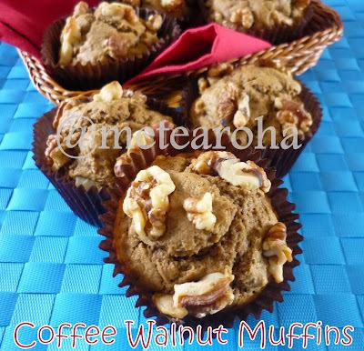 Coffee Walnut Muffins