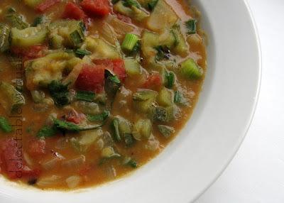 Ridge Gourd and Lentil Soup