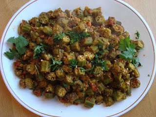 Simple Bhindi Masala (Bhindi ki sabji)