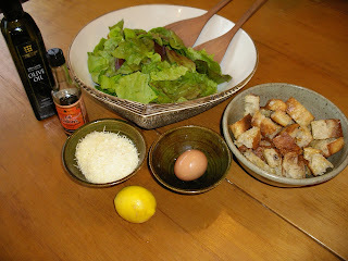 Have lettuce, lemons, garlic? Make Caesar Salad!