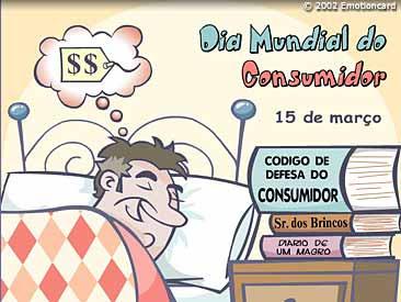 Hoje é dia do consumidor consciente!!!