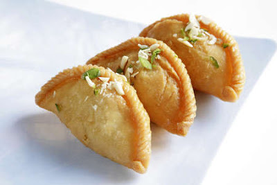 Microwave Coconut Gujiya Recipe