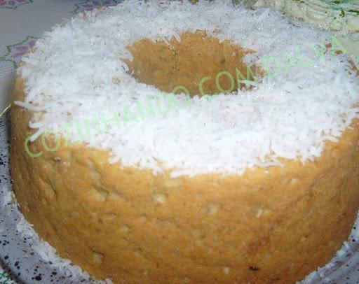 bolo de milho verde fresco com leite condensado