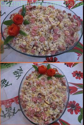 Arroz Doente (É o nome que o meu  filho Sandro colocou nesse arroz preparado por ele).