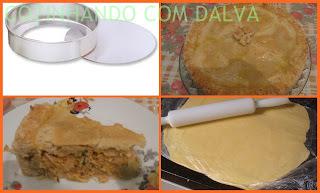 empadão de frango com margarina qualy