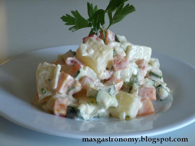 Receita No. 8 - Salada de Legumes
