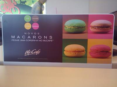 Macarons no McDonald's???