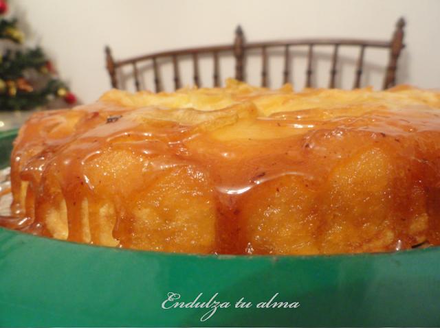 torta de manzana invertida essen