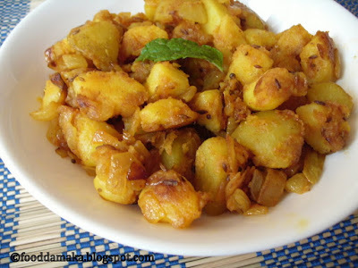 sindhi aloo fry