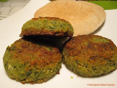 Menú del día: Falafel