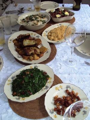Cozinha Mineira...................Almoço de Domingo !