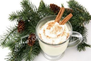 Bebida tipica do natal americano: Eggnog