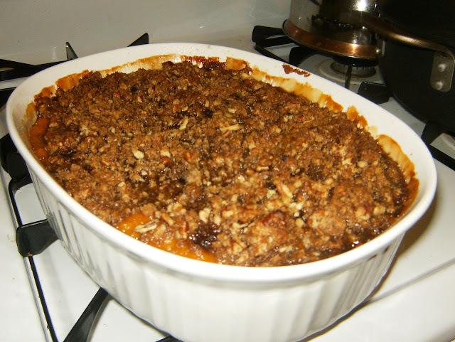 Sweet Potato/Butternut casserole