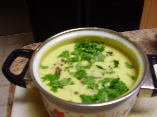 సొరకాయ మజ్జిగ పులుసు: Sorakaaya majjiga pulusu- Bottle gourd yogurt gravy