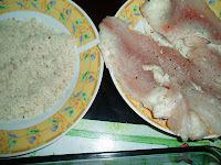 de filé de peixe congelado com creme de cebola ao forno