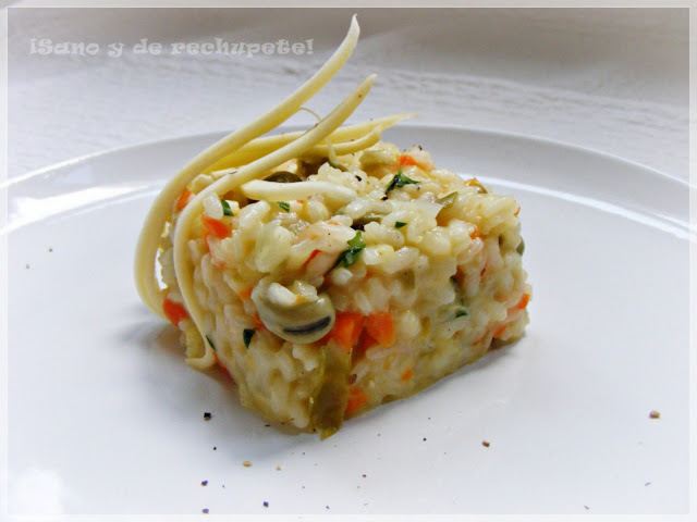 Risotto de verduras: la propuesta salada de Whole Kitchen