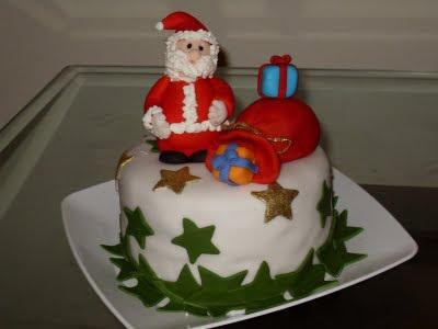 bolos lindos de natal