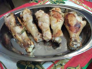 Coxas de frango super temperadas