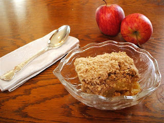 Mumseys' Apple Crumble