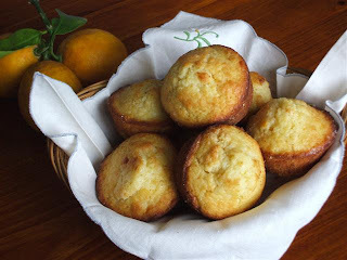 Crunchy Lemon Muffins