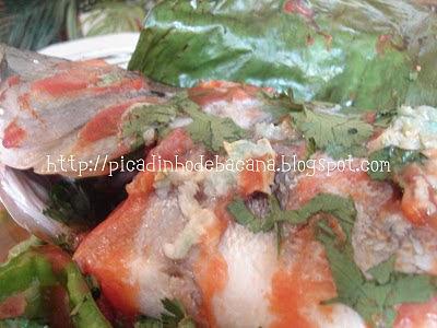 de peixe pintado assado no forno