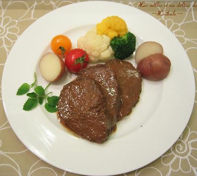 rosbeef au four sans matiere grasse
