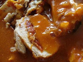 receita de frango caipira com angu de fubá