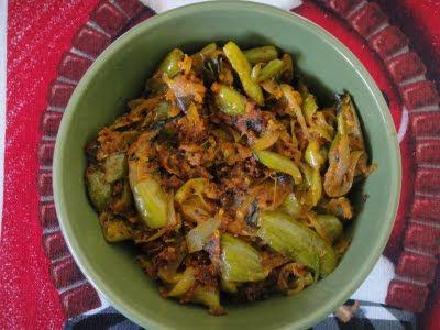 dondakaya gutti curry for roti