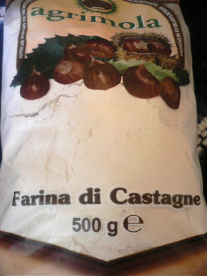 Chestnut flour fritters