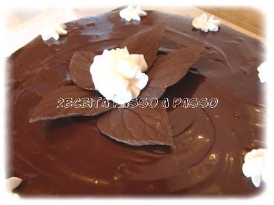 de bolo prestigio de chocolate branco e massa branca