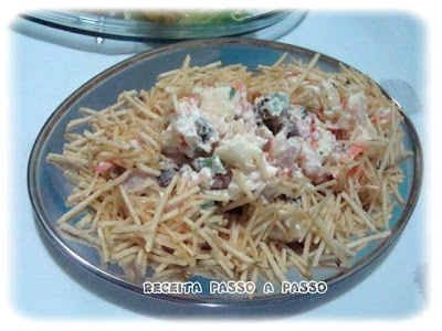 Salpicão de Frango Defumado / Smoked Chicken Mayonnaise