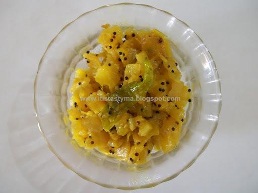 Radish with Mustard Paste