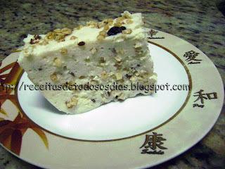 Mousse de granola e iogurte rapidinho, rapidinho