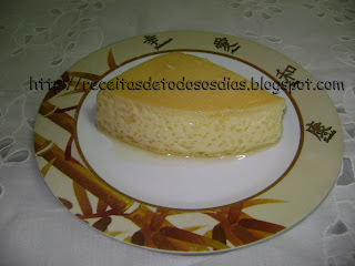 Pudim de Leite  de Coco  Light