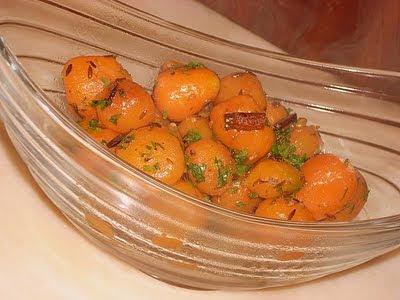 cenoura baby caramelada