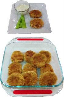 Tortitas de salmón horneadas