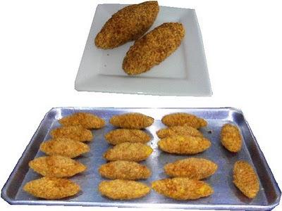 platanos empanizados fritos