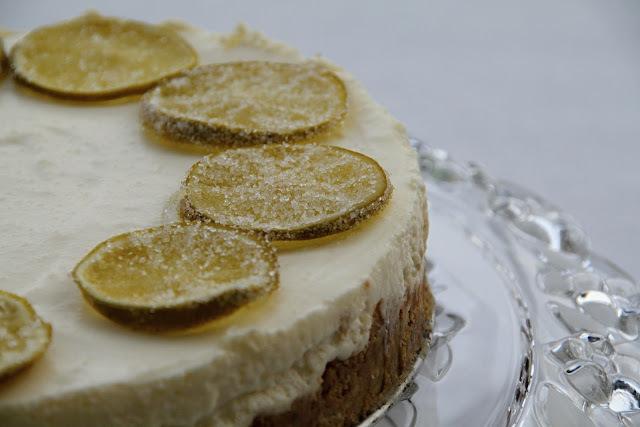 Limetový koláč - cheesecake