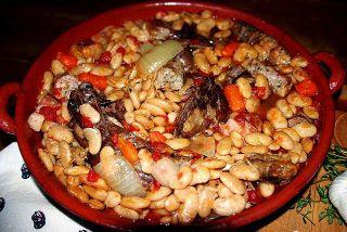 Cassoulet De Clo En Cocotte Minute Ou Mijoteuse...Bean Stew...