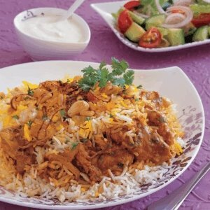 chicken biryani of muslim
