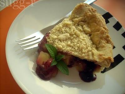 tarta de manzanas y arándanos [appleberry pie] inspirada por Jamie Oliver...