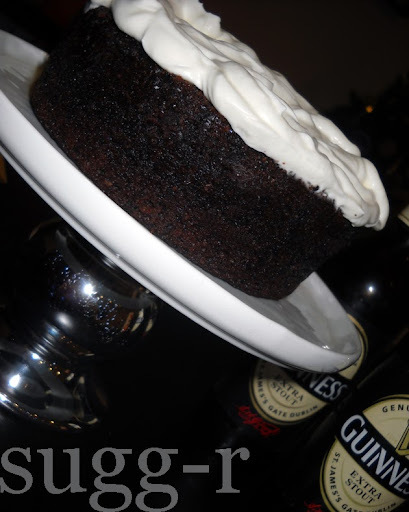 sweet 34! - chocolate guinness cake