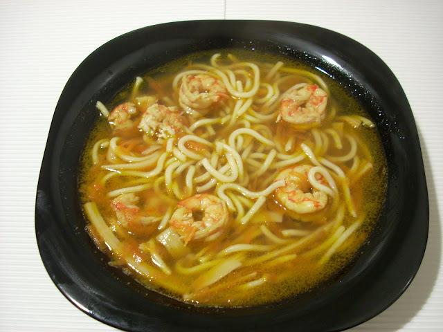 Sopa Udon a Mi Manera