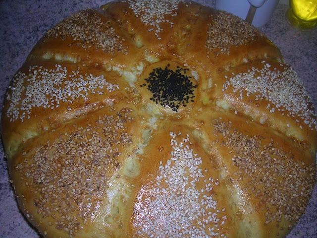 Khobz Eddar (pain maison) Tournesol