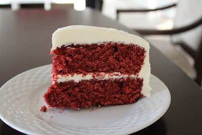 Bolo Aveludado Vermelho (Red Velvet Cake)