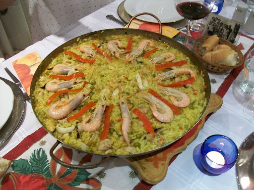 Ensaladas,  Quiches, y Paellas