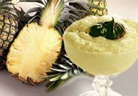 Mousse de abacaxi