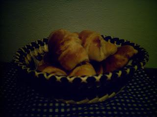 Pão doce recheado .....Saindo do forno...hummmmm!!