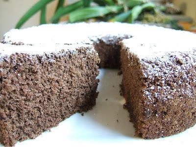 TORTA CHIFFON DE CACAO - COCOA CHIFFON CAKE